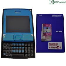 BNIB NOKIA X5-01 200MB AZURE / DARK GREY FACTORY UNLOCKED MOBILE PHONE 3G GSM