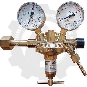 Flaschendruckminderer Argon/CO2, 200bar, 0-10bar (Druckminderer Argon Edelgase)