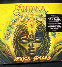 AFRICA SPEAKS CD BY SANTANA NEW JUNE 2019 SEALED.