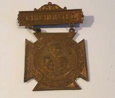 1898 G.A.R. Souvenir 32nd ENCAMPMENT Cincinnati OH Pin Medal Civil War
