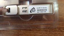 LOT OF 2 PCS. CARELINK CL-SFP-TX100/1000 3.3V copper SFP transceiver