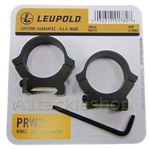 Leupold PRW2  30mm Permanent Rifle Scope Mount Rings