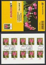 """Bund Folienblatt 33 gest 10 x Nr.3034  Blumen """"Tränendes Herz"""" aus 2013  ESST"""