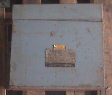 JEFFERSON ELECTRIC 213-127 6 KVA 3PH 480V POWERFORMER DRY-TYPE TRANSFORMER
