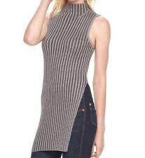 Rock & Republic WOMEN'S size Large Sleeveless Sweater TOP ~Ret $50~ NWT!! AD