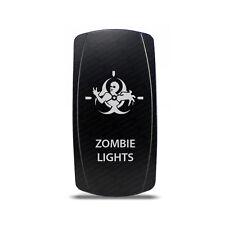 CH4x4 Rocker Switch Zombie Lights Symbol 3 - Green LED