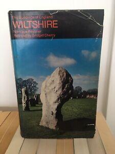 Buildings Of England: Wiltshire, Nikolaus Pevsner, Penguin Hardback Edition 1975