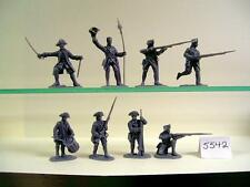 American 1:32 1751-1815 Military Personnel Toy Soldiers