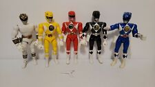 Mighty Morphin Power Rangers 8 inch Lot of 5 Fast Shipping!