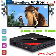 H96 Pro Plus TV BOX Android 7.1 Octa Core 4K Wifi 3GB+32GB Smart Media Player