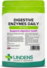 Digestive Enzymes Daily, for healthy digestion (360 tablets) [Lindens 4142]