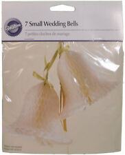 Small Paper Wedding Bells 3.25 inch Decoration from Wilton #276W