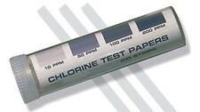 "USA SELLER  100  CHLORINE SANITIZER TEST STRIPS 2"" FREE SHIPPING USA ONLY"