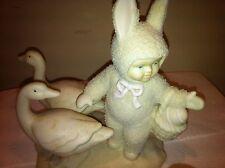 "(snowbabies) Snowbunnies Dept 56*""Goosey, Goosey & Gander"": Farm~free X-Mas Cd"