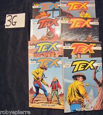 LOTTO 8 tutto tex tuttotex costa bianca 1993 n 159 161 165 167 172 173 183 184