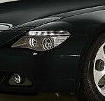 BMW Brand Genuine E63 E64 6 Seires 2004-2007 Euro Clear Bi-Xenon AHL Headlamps