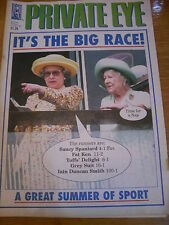 PRIVATE EYE MAGAZINE NUMBER 1031 JUNE 2001 IT'S TH BIG RACE QUEEN AND MOTHER