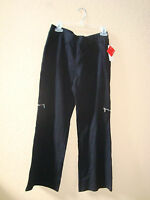 New Style & Co Womens Sport Stretch Black Pants Small