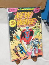 THE NEW WAVE MAN IN THE CORPORATE BOOM 1ST ISSUE #1 ECLIPSE COMIC BOOK