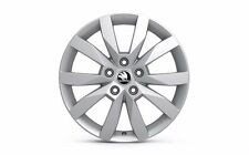 "Original SKODA aloy wheel CRYSTAL 6J x 17"" 5E0071496A 8Z8"