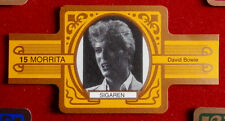 "DAVID BOWIE: SET of 5 Vintage ""Morrita Sigaren"" CIGAR bands - IDEAL FOR FRAMING!"