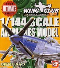 Wing Club L Part 2 - 1/144 Scale Airplanes Model (1 Random Model)