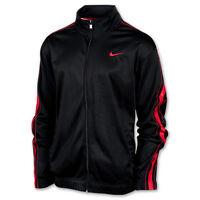Nike Men's Practice OT Black Basketball Zip-Up Training Jacket 411218-011 Size L