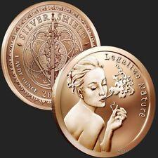 New listing Silver Shield | Legalize Nature 2019 | 1 oz Avdp .999 Pure Copper Round