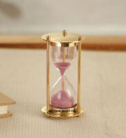 Brass Nautical Maritime Sand Timer Hourglass office Sand Timer Christmas Gift