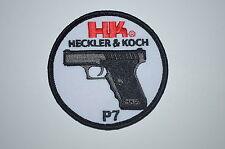 HECKLER &  KOCH HK P7 PATCH H&K P7 PSP P7 M8 P7 M10  P7 M13 P7K3 P7 PT8 RARE NEW