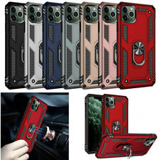 Outdoor Mit Magnet Ring Stand Panzer Shockproof Soft +Hard PC Case Cover Lot  FS