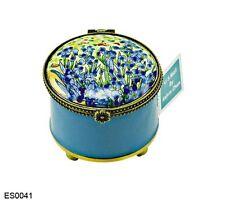 Kelvin Chen Enamel Copper Hand Paint Stamp Dispenser - Iris Vase Van Gogh