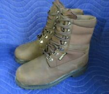Mens Work Boots Gore-Tex Brown Field & Stream, Leather Sz 9 Hunting Boots