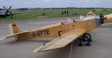 Klemm Kl 25 Light Leisure Training Aircraft Mahogany Wood Model Replica Large