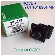 Lucas SPB248 Mirror Adjust Switch Rover 200, ZF, MGF YUF101890PMP