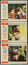 WAR AND PEACE Lobby Card Set 11x14 Inch Size N.Mint  Movie Poster AUDREY HEPBURN