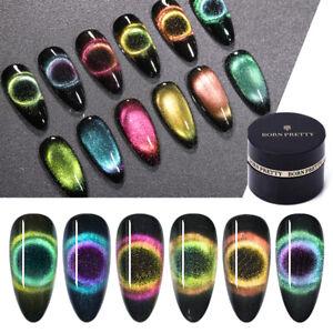 BORN PRETTY 9D Magnetic Cat Magnetic Nail Polish Soak Off UV Nail Salon Varnish