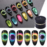 BORN PRETTY 9D Magnetic Cat Eye Gel Nail Polish Soak Off UV Nail Salon Varnish
