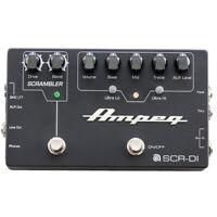 Ampeg SCR-DI Bass Preamp Direct Box Scrambler Overdrive EQ Guitar Effects Pedal