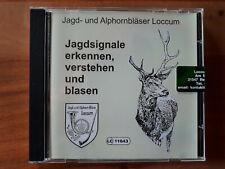 """CD """"Jagdsignale erkennen, verstehen und blasen"""" Neu"""