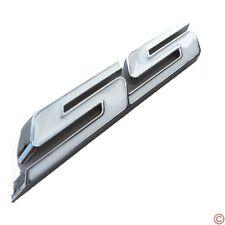 """White """"SS"""" Grille Side Trunk Emblem Badge for IMPALA COBALT Camaro 2010+"""