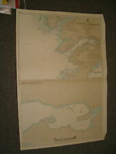 Vintage Admiralty Chart 2729 Iceland - South West Coast 1968 edn