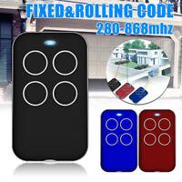 280-868MHZ Universal Fix Rolling Gate Garage Door Remote Control Duplicator Tool