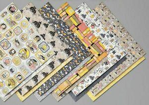 Stampin Up Monster Bash Designer Series Paper 12 X 12 Halloween Brand New
