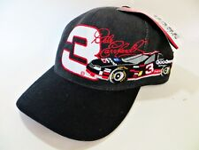 VINTAGE NASCAR BASEBALL CAP 'DALE EARNHARDT, CHEVROLET RACING, #3' NEW. ONE-SIZE