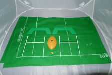 More details for vintage subbuteo international table rugby scrummer ball posts grass pitch