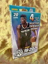 Mosaic NBA Hanger Box 2019-2020 Panini Basketball Zion Willamson Ja Morant NEW