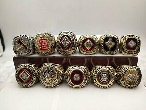11Pcs St. Louis Cardinals Championship Ring Gift!