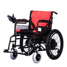 2018 New Lightweight Electric Wheelchair Portable Medical Scooter Red