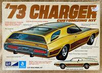 Vintage MPC 73 Dodge Charger Customizing Kit Plastic Model 1973 Box Rare '73
